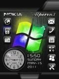 animated windows clock