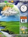 calendar sun clock